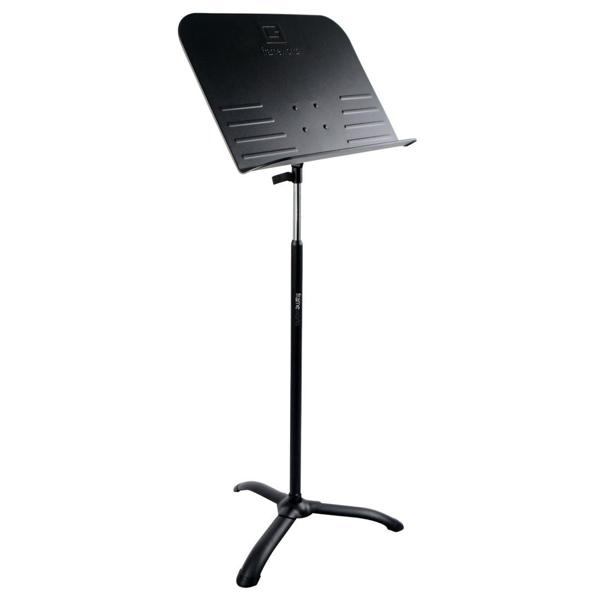 frameworks gfw mus 1000 standard sheet music stand at gear4music. Black Bedroom Furniture Sets. Home Design Ideas