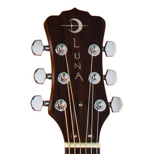 Luna Safari Dolphin Travel Guitar