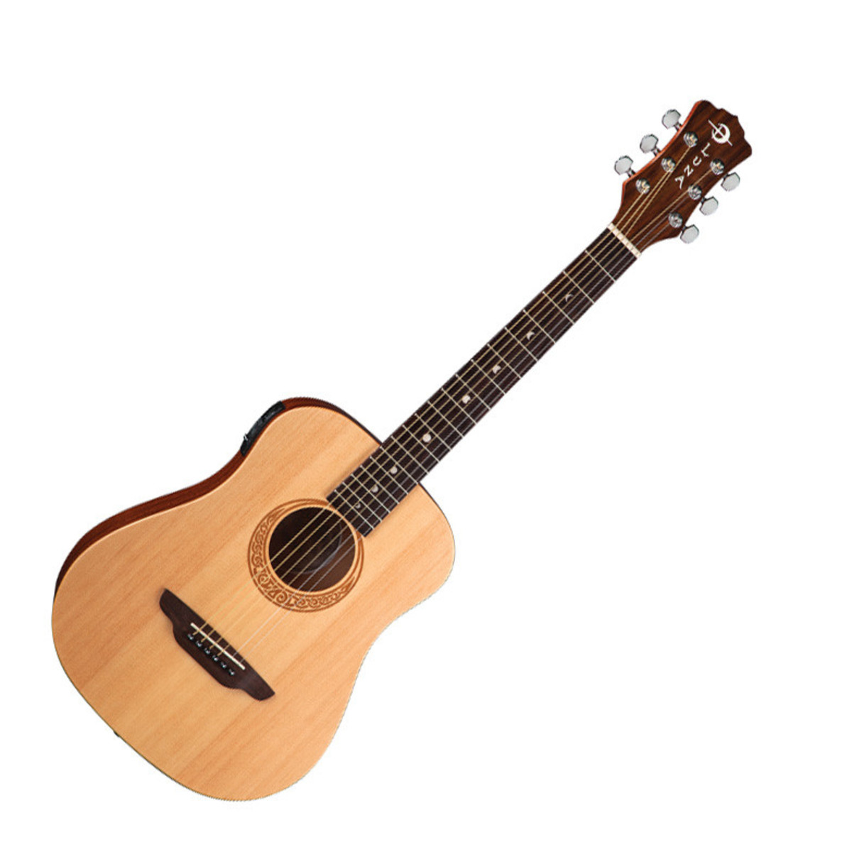 DISC Luna Safari Muse Electro Acoustic Travel Guitar at Gear4music