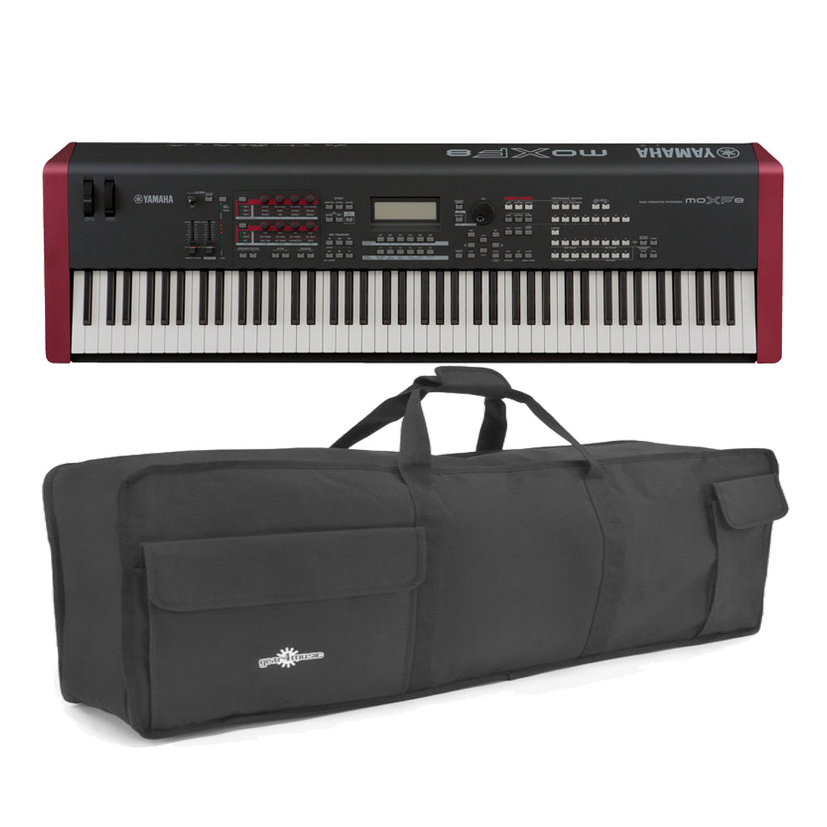 yamaha moxf8 synthesizer keyboard with soft case at gear4music. Black Bedroom Furniture Sets. Home Design Ideas