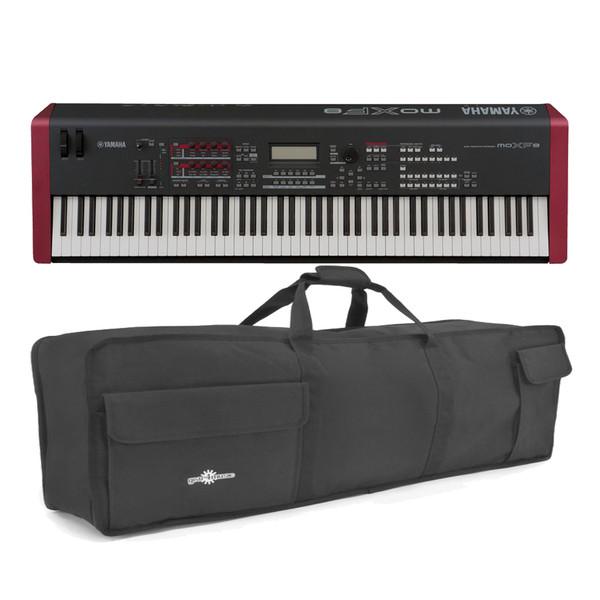 Yamaha MOXF8 Synthesizer Keyboard With Free Soft Case