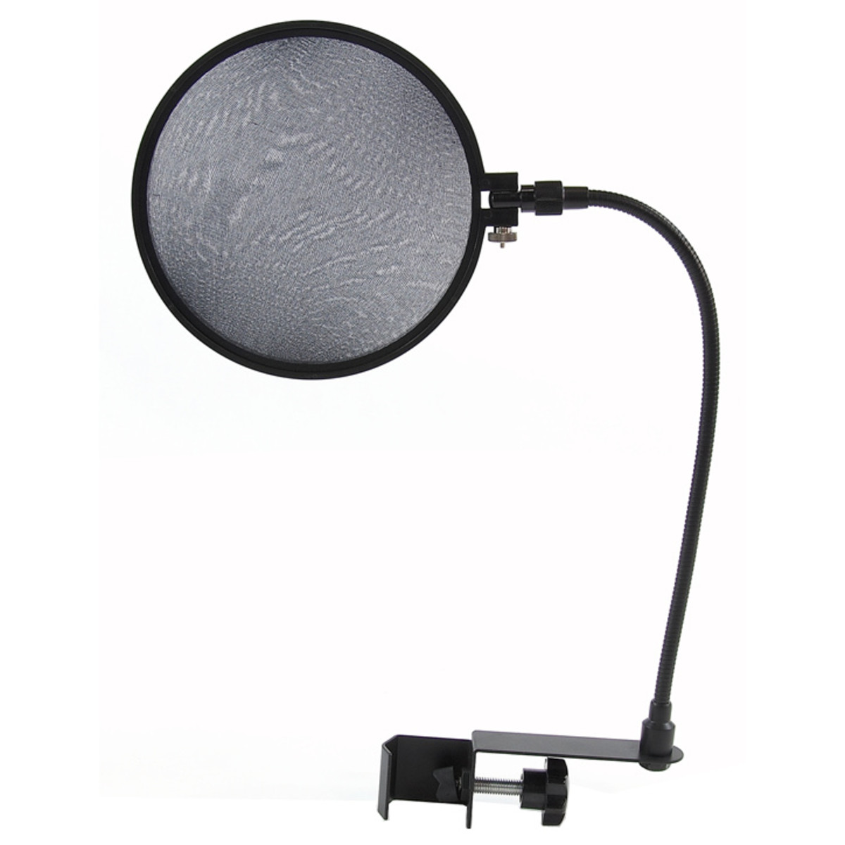 microphone pop filter shield for mic stand 125mm screen nearly new at gear4music. Black Bedroom Furniture Sets. Home Design Ideas