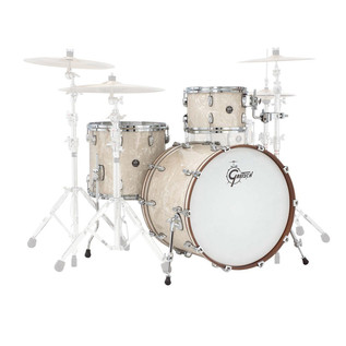 Gretsch Drums Renown Maple 22'' 3 Pc Euro Shell Pack, Vintage Pearl