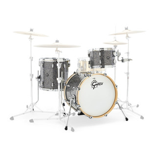 Gretsch Drums Renown Maple 18'' 3 Pc Jazz Shell Pack, Blue Metal