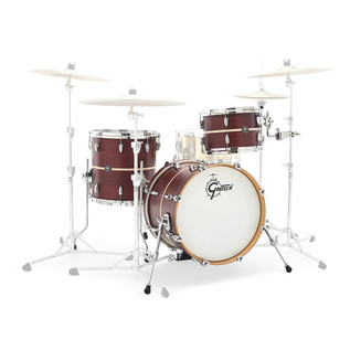 Gretsch Renown Maple 18'' 3 Pc Jazz Shells, Walnut with Pearl Inlay