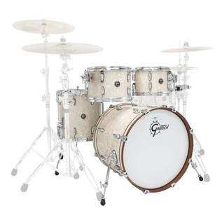 Gretsch Drums Renown Maple 20'' 4 Pc Groove Shell Pack, Vintage Pearl