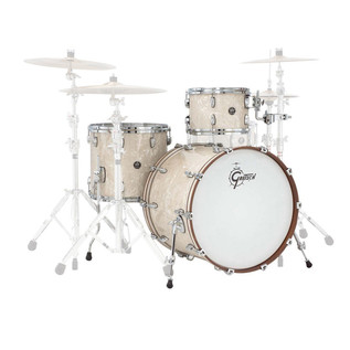 Gretsch Drums Renown Maple 18'' 3 Pc Jazz Shell Pack, Vintage Pearl