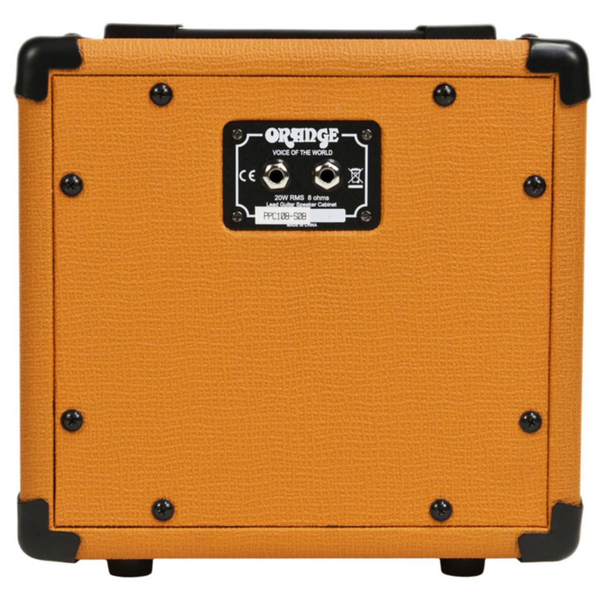 Orange PPC108 Micro Terror 1 x 8 Closed Back Cabinet - Nearly New ...