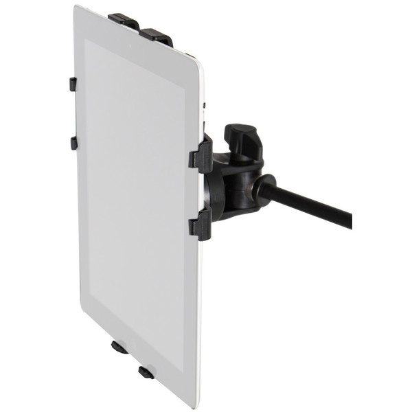 Frameworks GFW-UTL-TBLTMNT iPad Tablet Tray with Mic Stand Mount, Front View