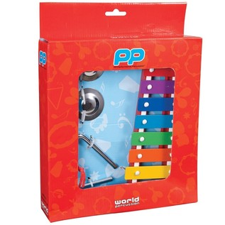 Performance Percussion PK09 Music Box Inc Glockenspiel, Triangle