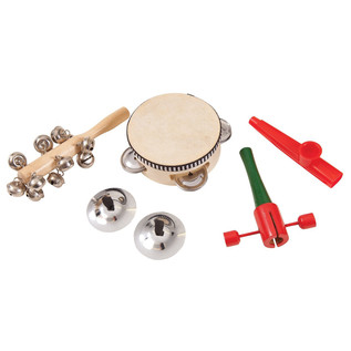 Performance Percussion PK10 Music Box, Jingle and Wood