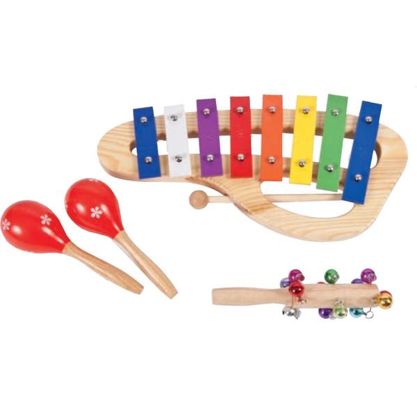 Performance Percussion PK11 Music Box, Wood Set
