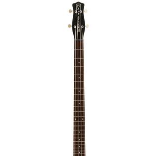Danelectro Hodad Bass Guitar, Gloss Black 4