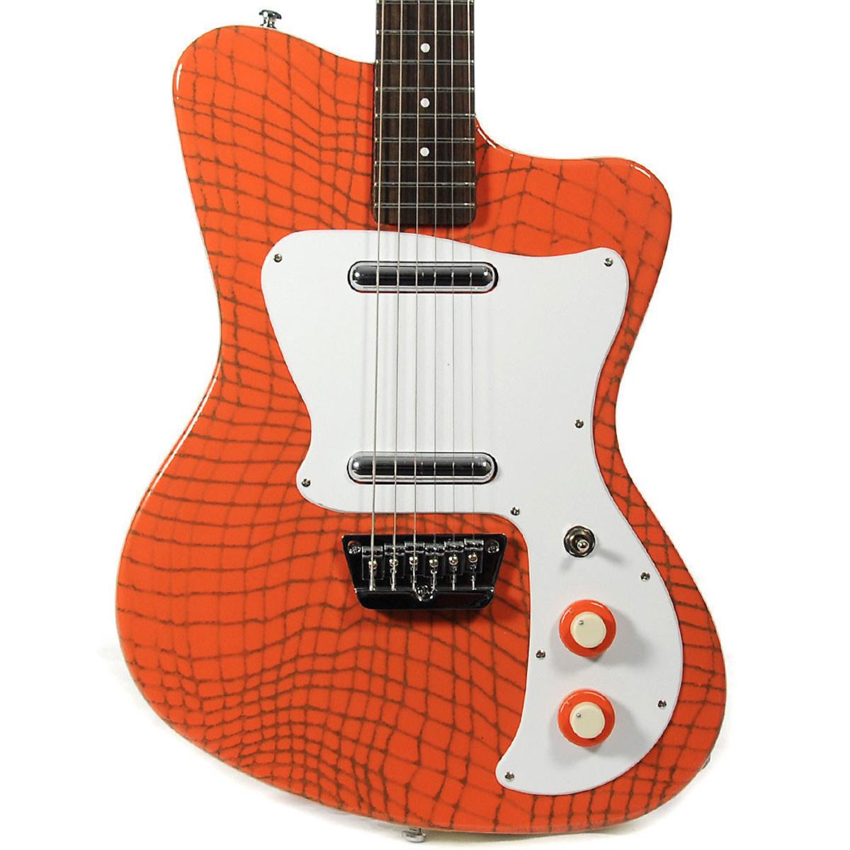 disc danelectro 67 heaven guitar alligator orange at gear4music. Black Bedroom Furniture Sets. Home Design Ideas