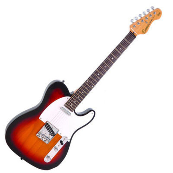 Encore E2 Electric Guitar, Sunburst