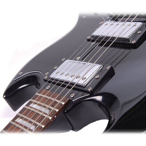 Encore E69 Electric Guitar, Black 3