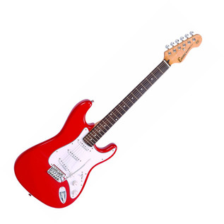 Encore E6 Electric Guitar, Red