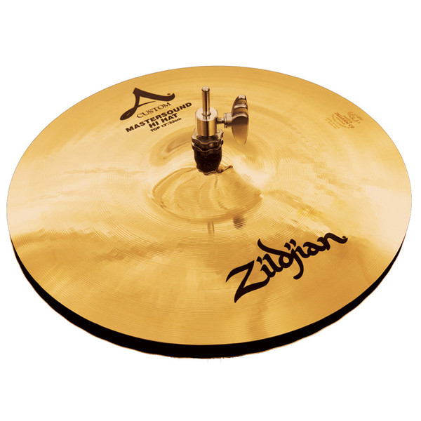 Zildjian A Custom 13''  Mastersound Hi-Hat Cymbals, Pair