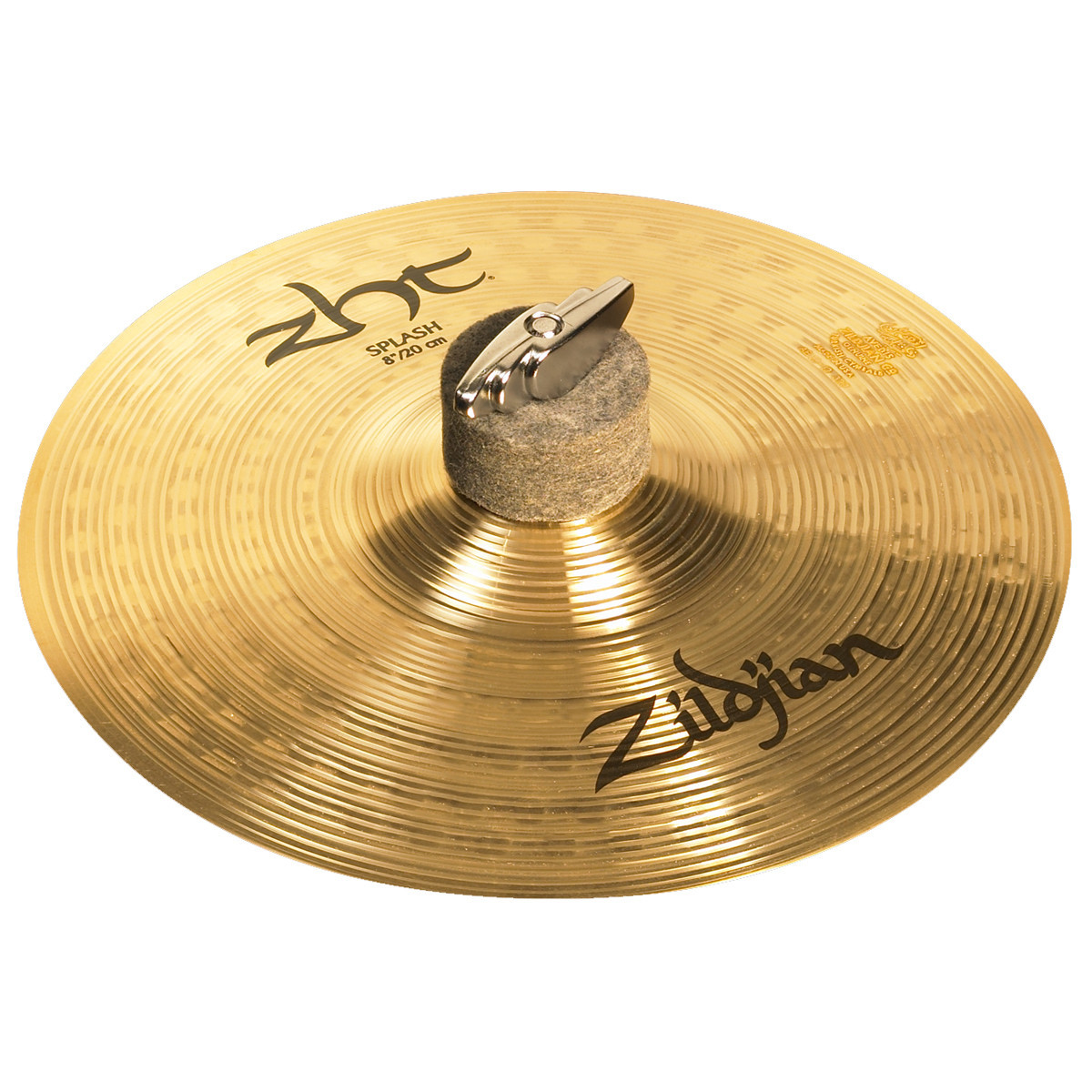 disc zildjian zht 8 39 39 splash cymbal at gear4music. Black Bedroom Furniture Sets. Home Design Ideas