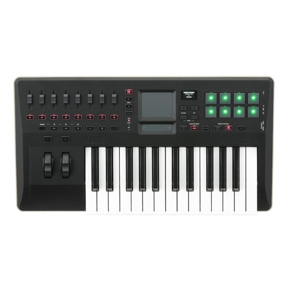 korg taktile 25 clavier contr leur usb midi 25 touches comme neuf gear4music. Black Bedroom Furniture Sets. Home Design Ideas