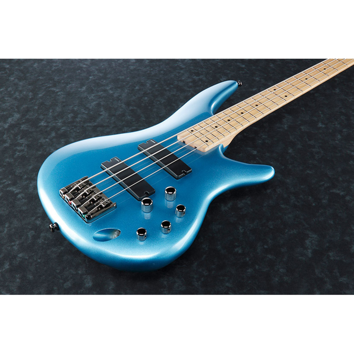 Ibanez SR300M Bass Guitar, Soda Blue - Ex Demo at Gear4music.com