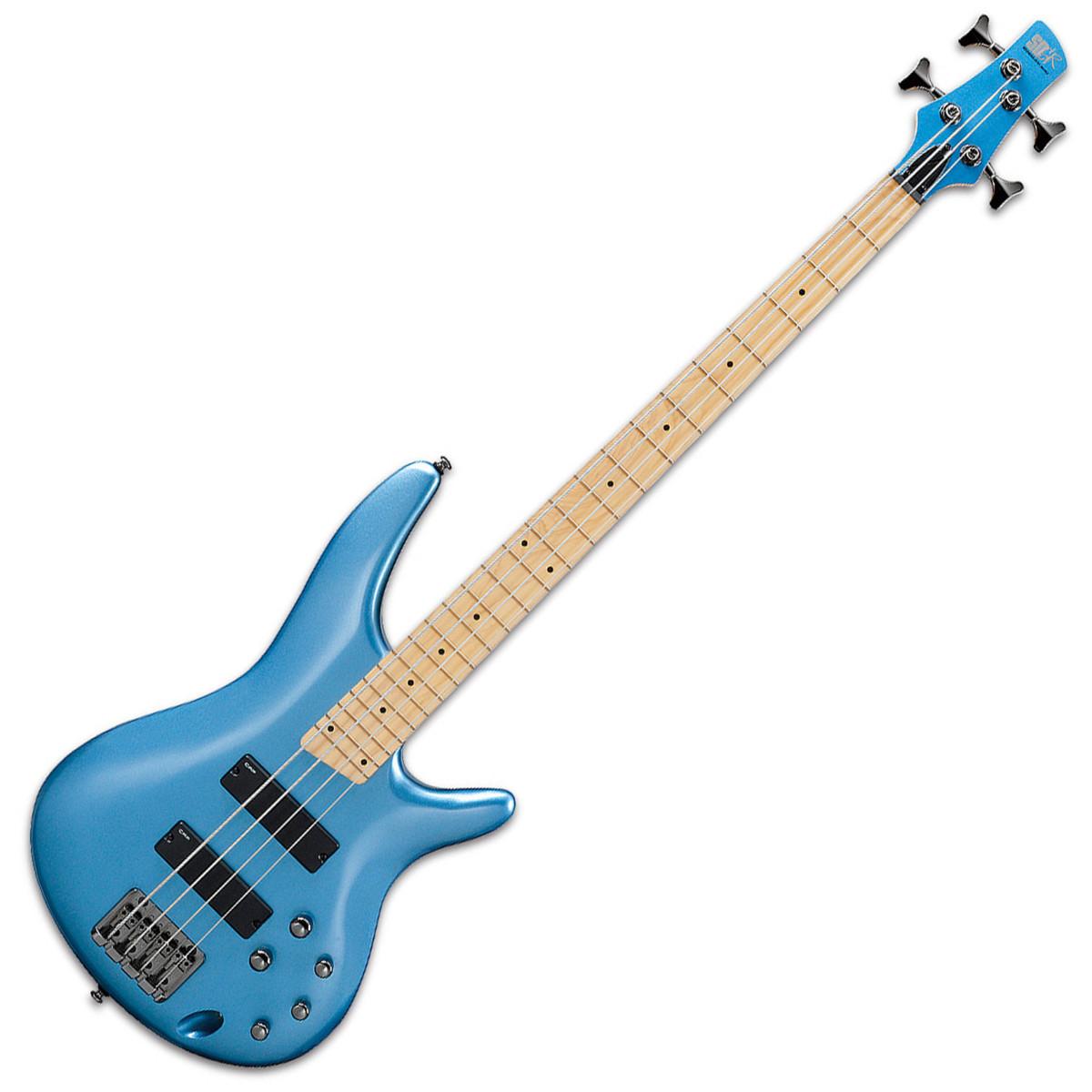 ibanez sr300m bass guitar soda blue ex demo at gear4music. Black Bedroom Furniture Sets. Home Design Ideas