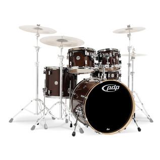 PDP Drums Concept Maple 22'' CM5 Shell Pack, Transparent Walnut