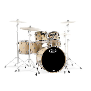 PDP Drums Concept Maple 22'' CM6 Shell Pack, Natural Lacquer