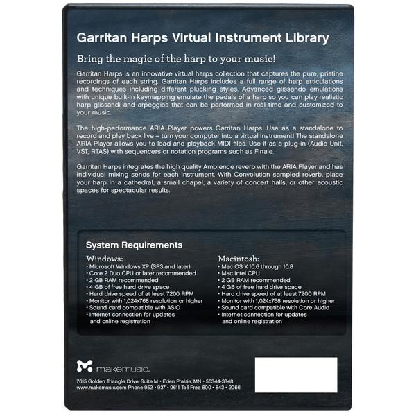 DISC Garritan Harps Sound Bank