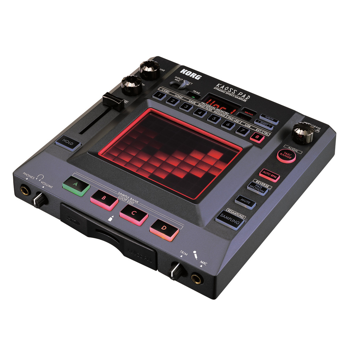 korg kaoss pad kp3 dynamic effects sampler at gear4music. Black Bedroom Furniture Sets. Home Design Ideas