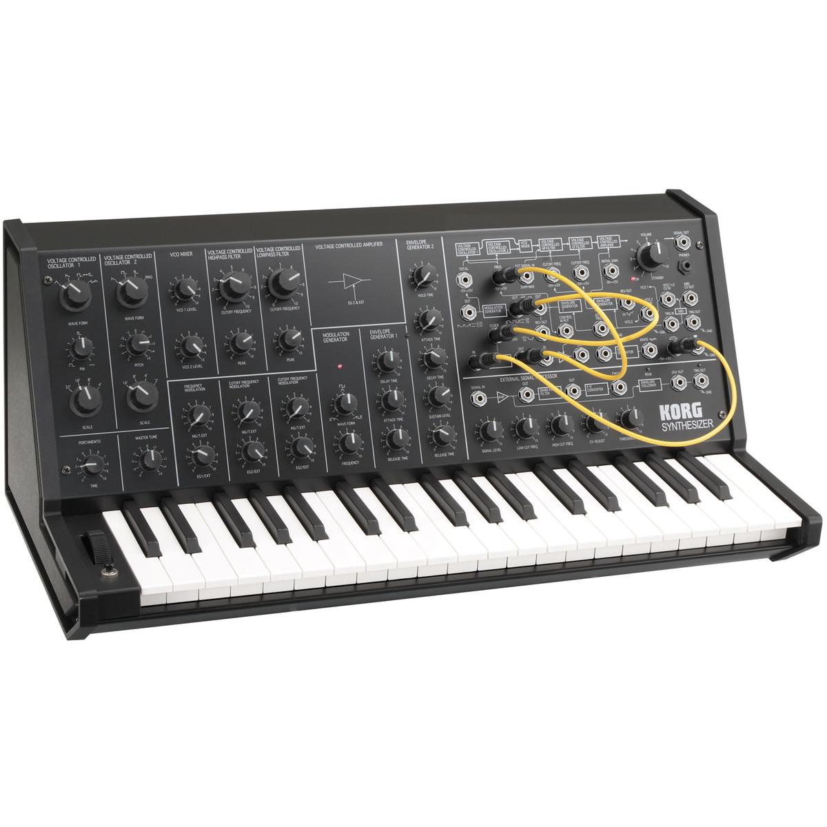 Shop now   Korg MS-20 Mini Monophonic Analog Synthesizer