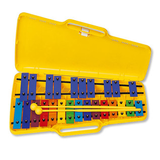 Angel AX-25N3 G4-G6 25 Note Glockenspiel, Coloured Keys