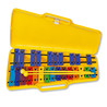 Angel AX-25N3 G4-G6 25 Opmerking Glockenspiel, Yellow Case