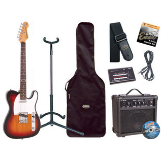 Encore Electric Guitar Outfit, Sunburst