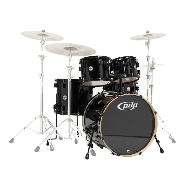 PDP Drums Concept Maple 22'' CM5 Shell Pack, Pearlescent Black