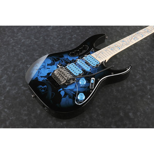 Ibanez Steve Vai JEM77P-BFP Signature Electric Guitar, Floral Finish 2