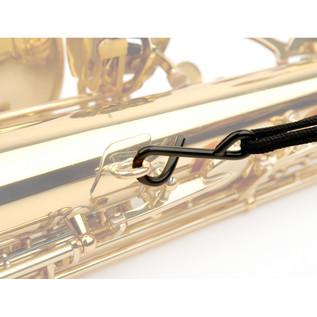 Rico Fabric Saxophone Strap, Black