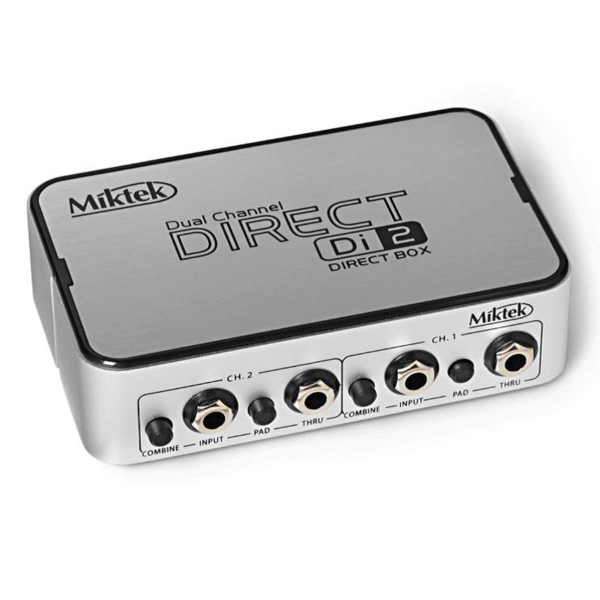 Miktek D2 Dual Active DI Box