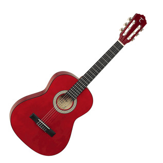 Tanglewood 3/4 Classical Acoustic Guitar, Trans Red Gloss