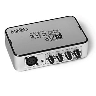 Miktek MX4 4 Channel Mixer
