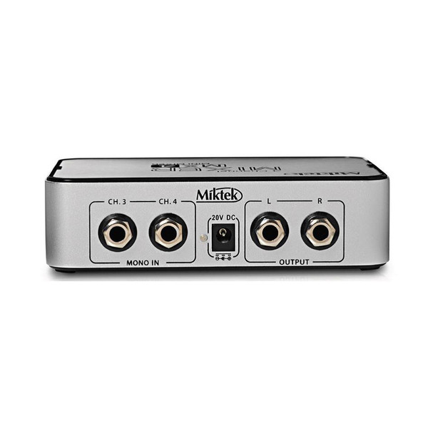 Miktek MX4 4 Channel Mixer 3