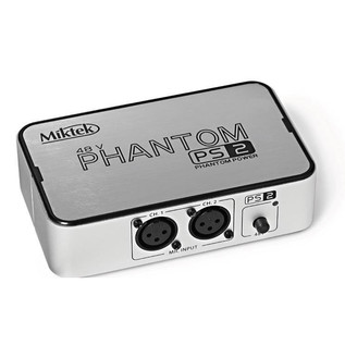 Miktek PS2 2 Channel 48v Phantom Power