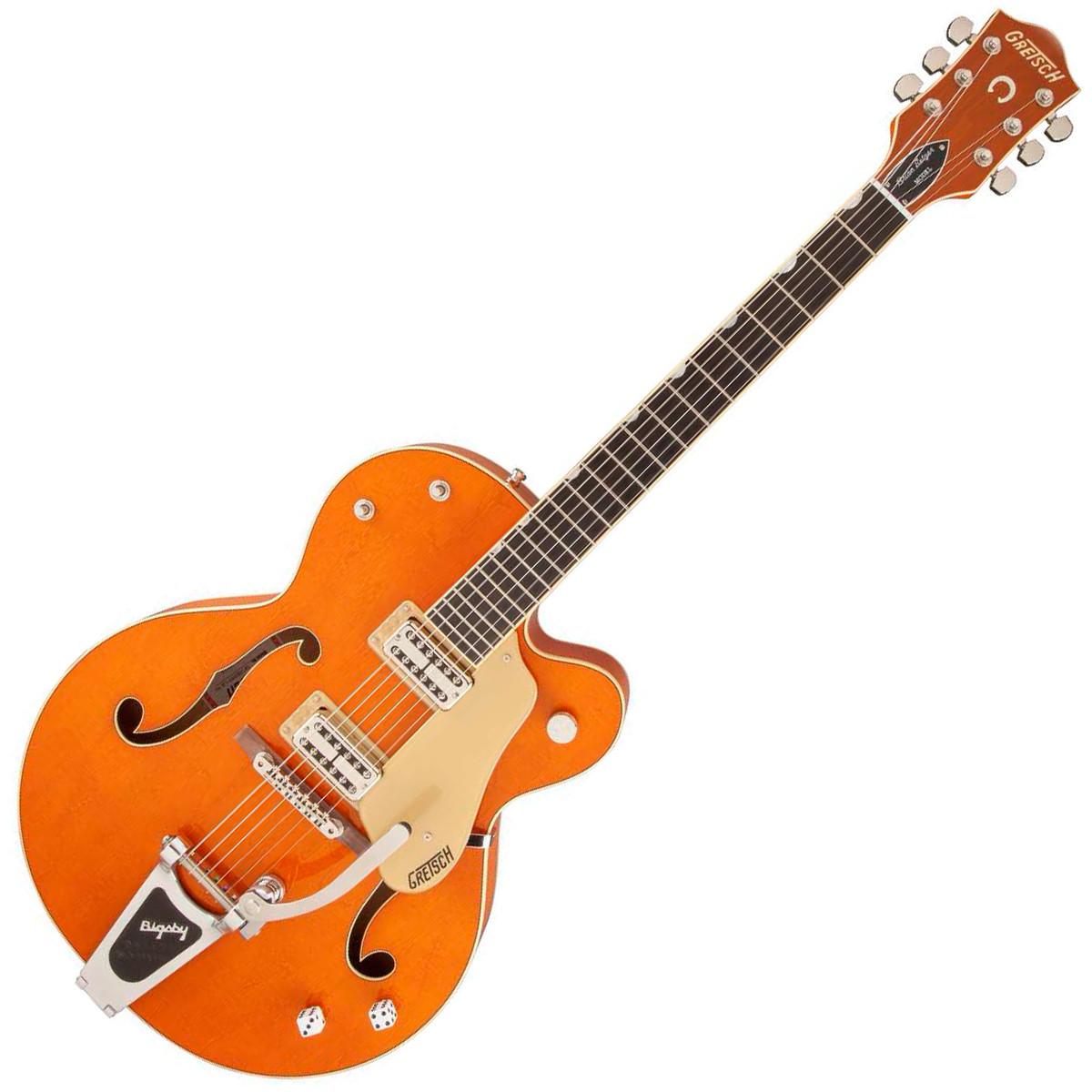 gretsch g6120sslvo brian setzer nashville 3 ply maple orange at gear4music. Black Bedroom Furniture Sets. Home Design Ideas