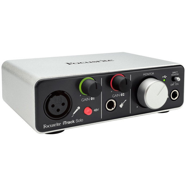 iTrack Solo Interface