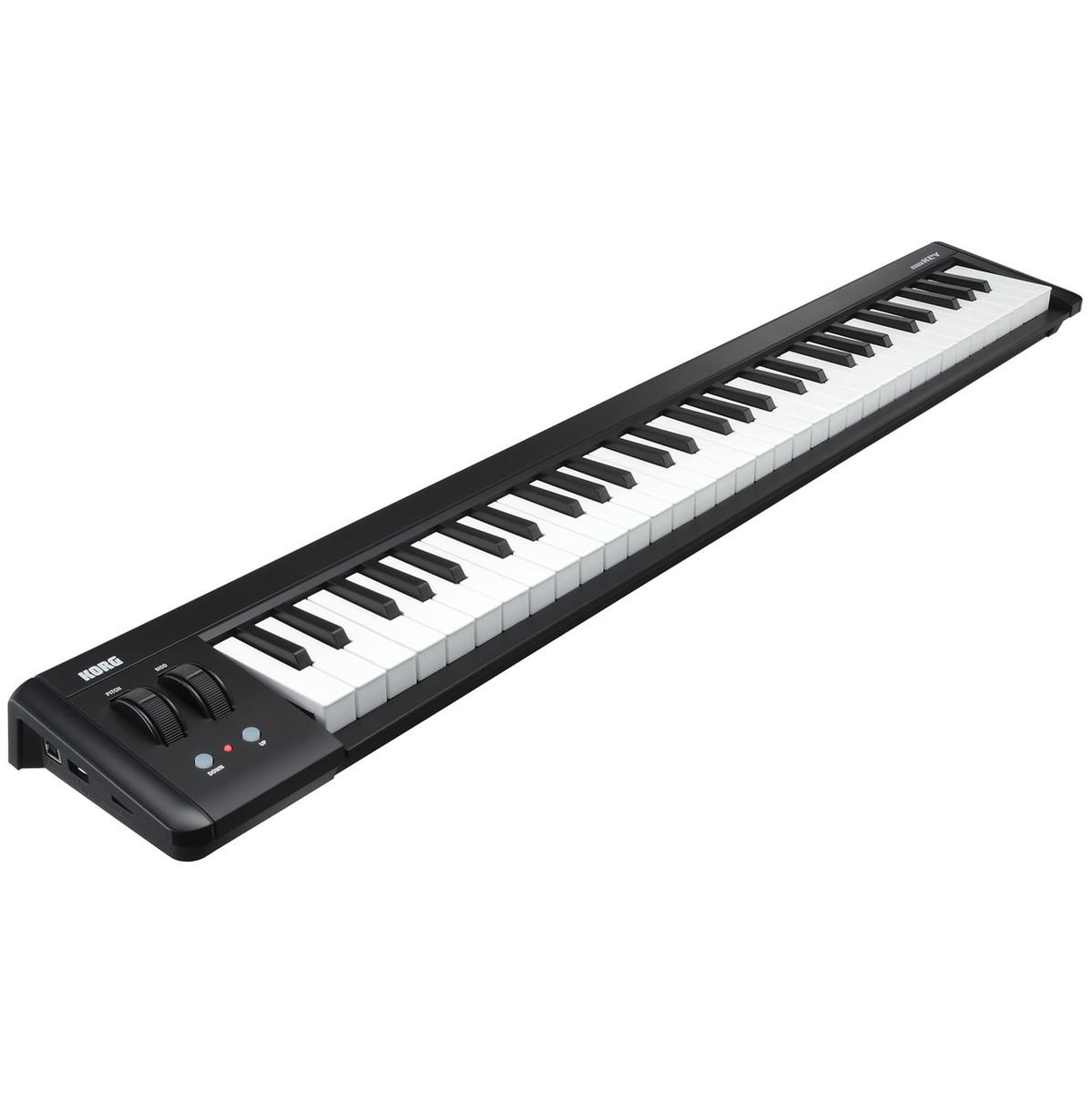 DISC Korg microKEY-2 61 Key USB MIDI Keyboard