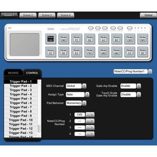 Korg nano PAD 2 USB MIDI Controller, Black 4