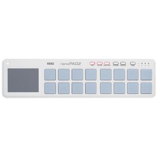 Korg nano PAD 2 USB MIDI Controller, White 3