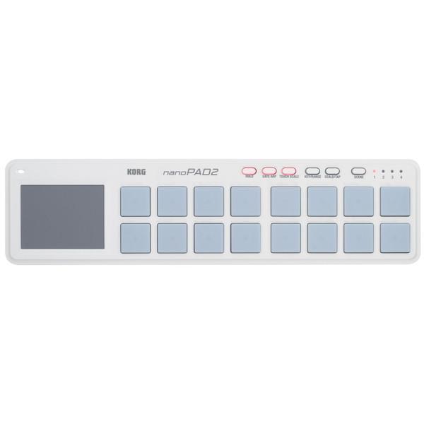 Korg nanoPAD2 USB MIDI Controller - Top