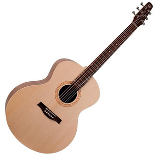Seagull Excursion Walnut Mini Jumbo Acoustic Guitar