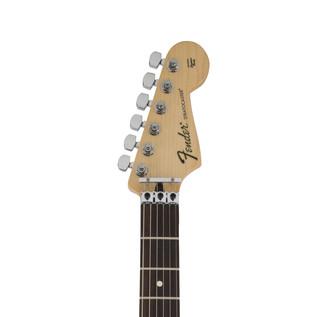 Fender Standard Strat HSS Electric Guitar, Floyd Rose, Ghost Silver